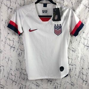 NWT Nike Women's Team USA Soccer Jersey